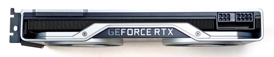 NVIDIA GeForce RTX 2070 SUPER card top