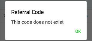 Razer Pay manual referral failure