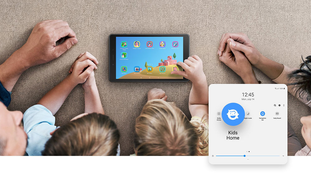 Samsung Galaxy Tab A 2019 Kids Home