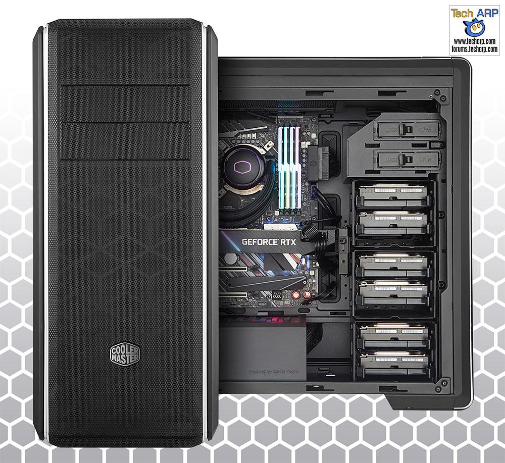 Cooler Master MasterBox CM694 case front side