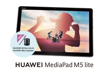 HUAWEI MediaPad M5 lite Price + Pre-Order For Malaysia!