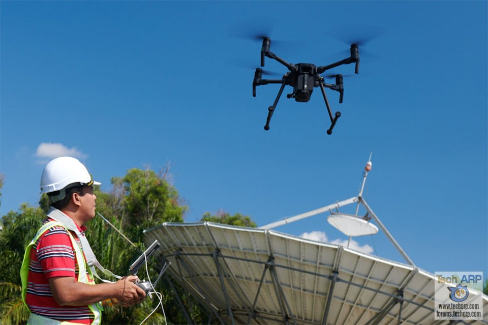 Maxis SkyEye drone