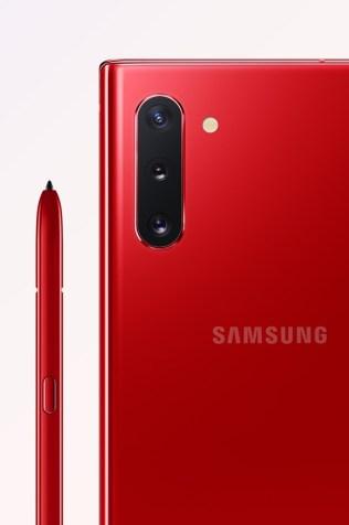 Samsung Galaxy Note 10 Aura Red