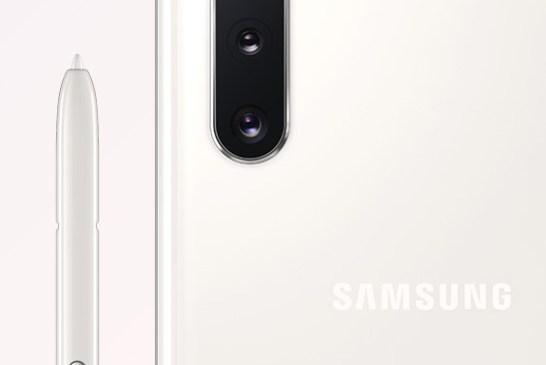 Samsung Galaxy Note 10 Aura White