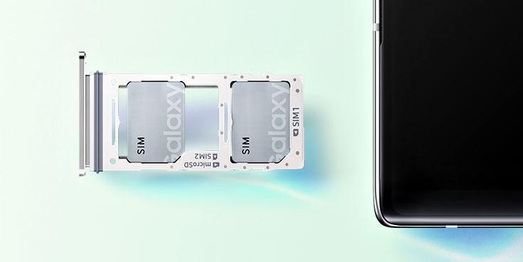 Samsung Galaxy Note 10 Plus Hybrid SIM