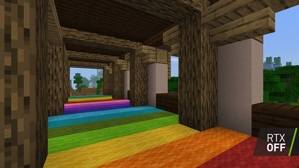 Minecraft Ray Tracing off