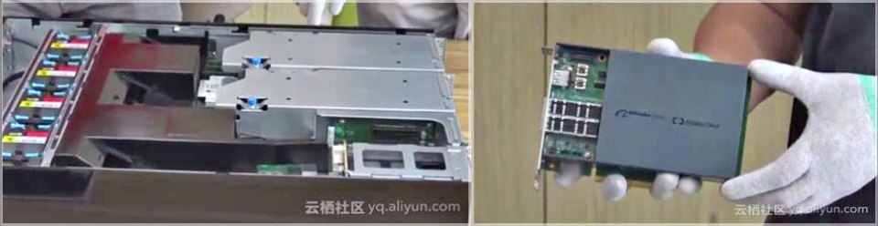Alibaba X-Dragon server and MOC