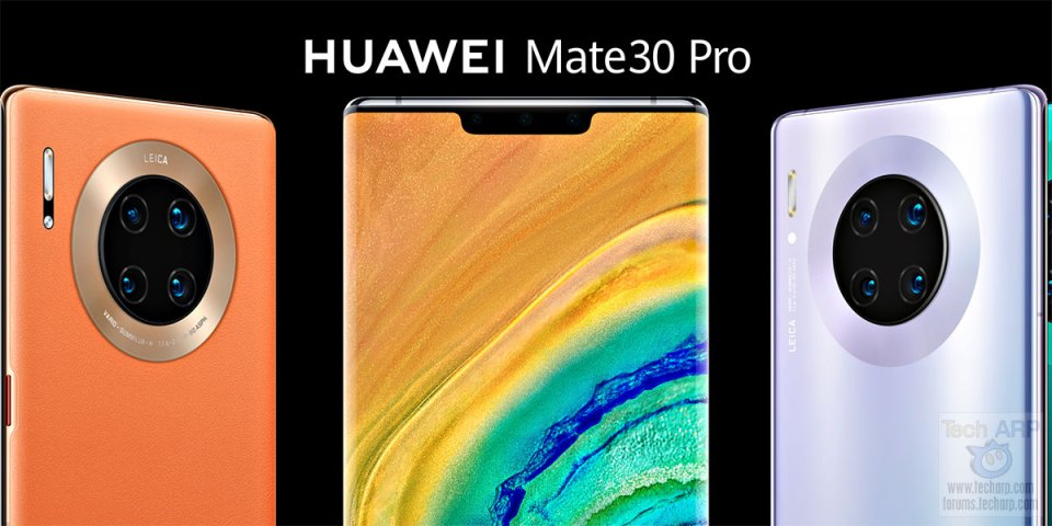 HUAWEI Mate 30 PRO Price, Specifications + Colour Options!