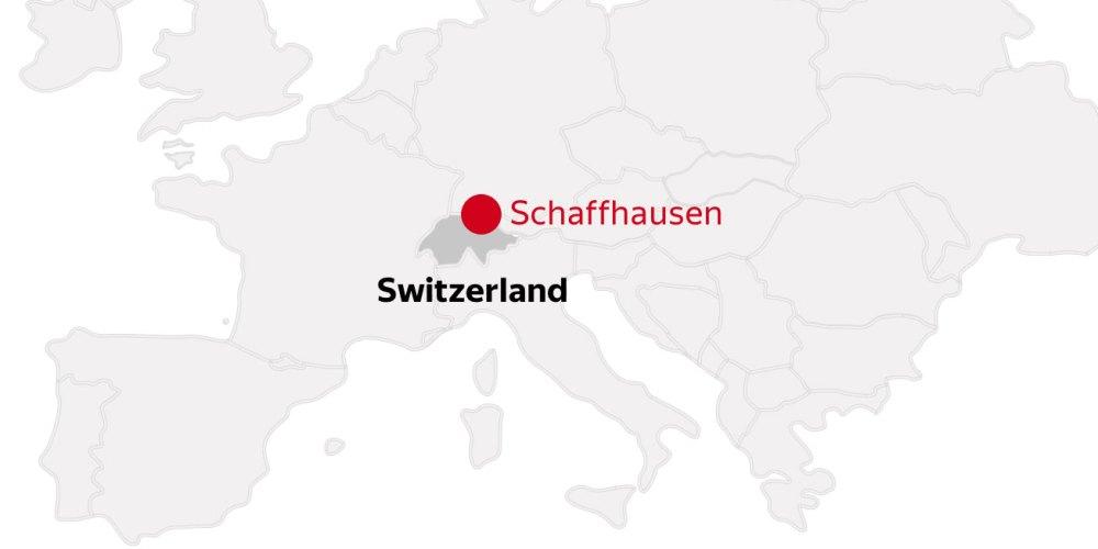 Schaffhausen location