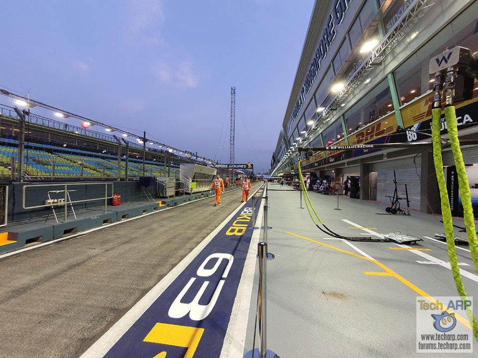 Singapore Grand Prix Pit Stop