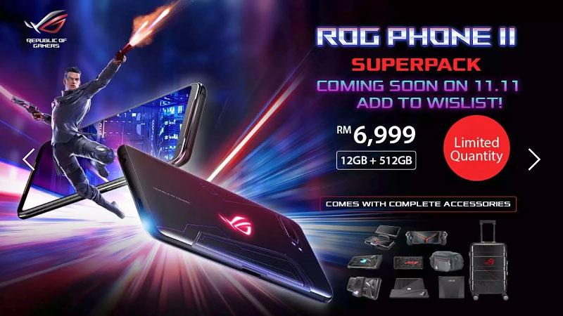 ASUS ROG Phone 2 SuperPack Malaysia