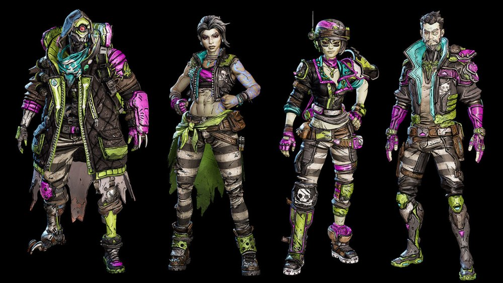 Borderlands 3 Bloody Harvest skins