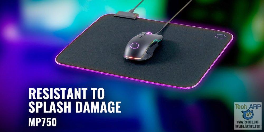 Cooler Master MP750 Soft RGB Mousepad Revealed!