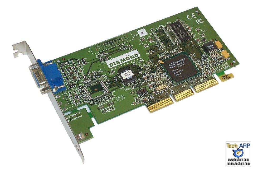 Diamond S3 Savage4 Pro AGP graphics card