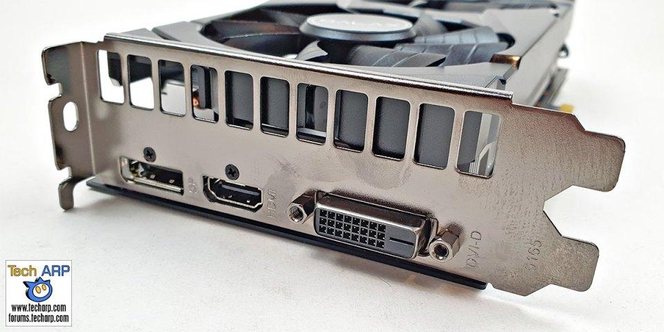 GALAX GeForce GTX 1660 SUPER card left