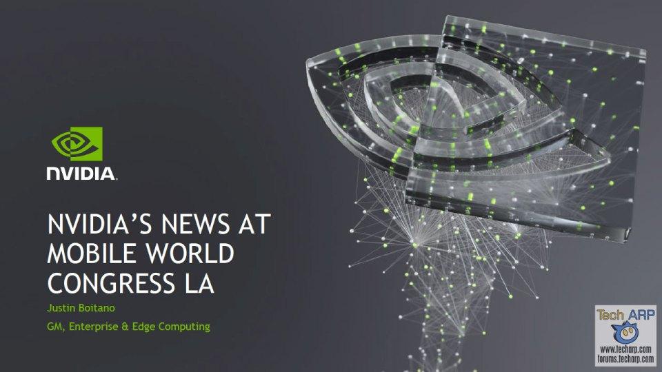 NVIDIA EGX MWC Los Angeles 2019 slide 01