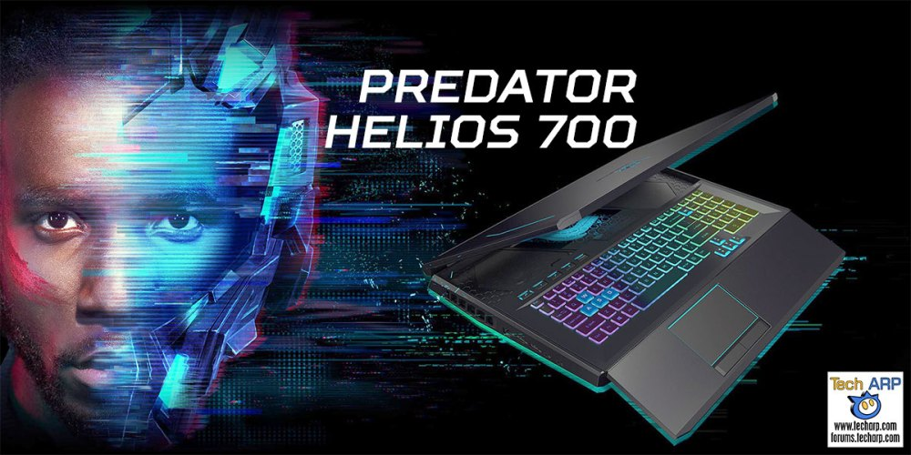 Acer Predator Helios 700 Gaming Laptop Preview