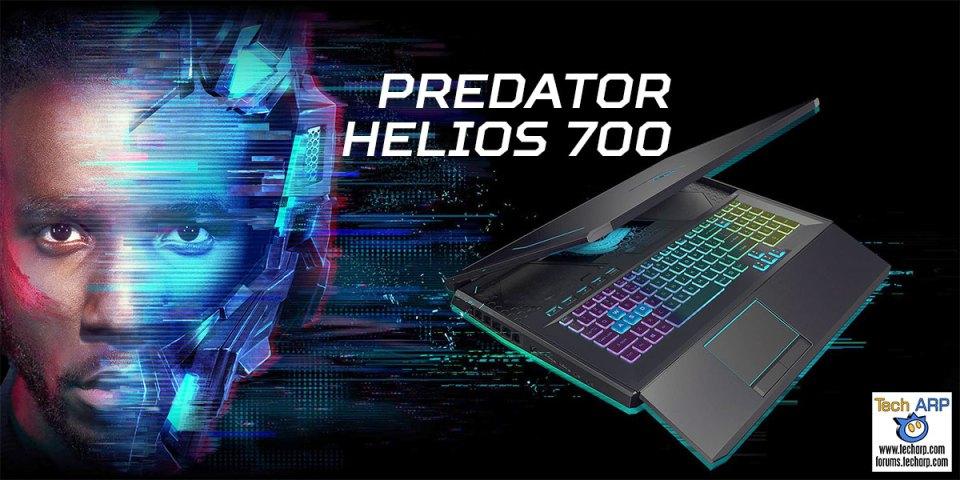 Acer Predator Helios 700 Gaming Laptop Preview