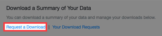 Yahoo Groups request download