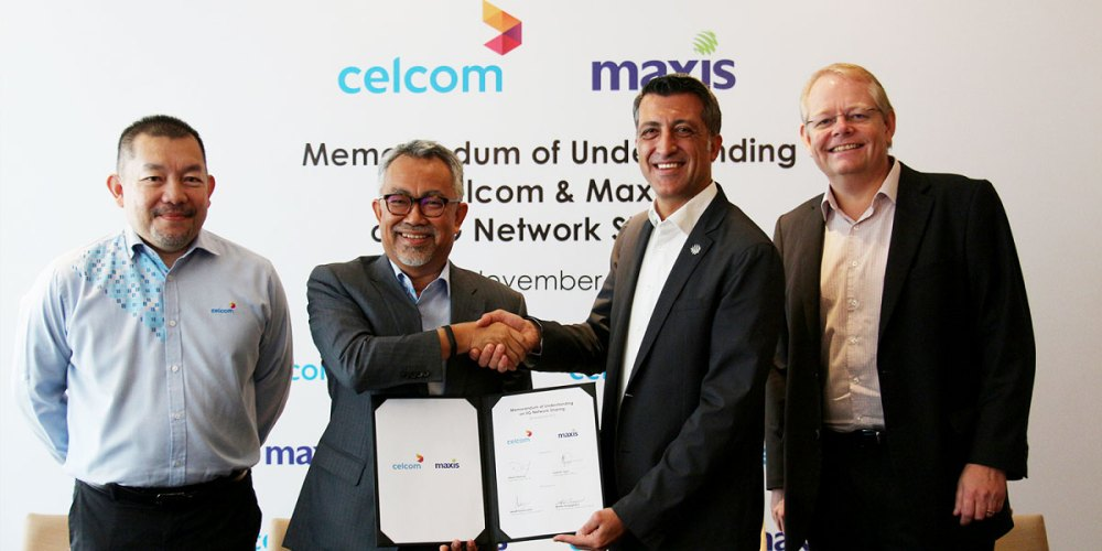Celcom + Maxis To Explore 5G Network Sharing!