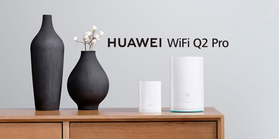 HUAWEI WiFi Q2 Pro : Expandable WiFi Router!
