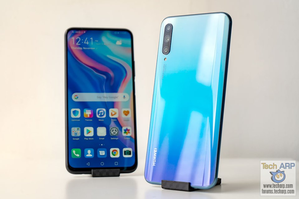 HUAWEI Y9s front and back