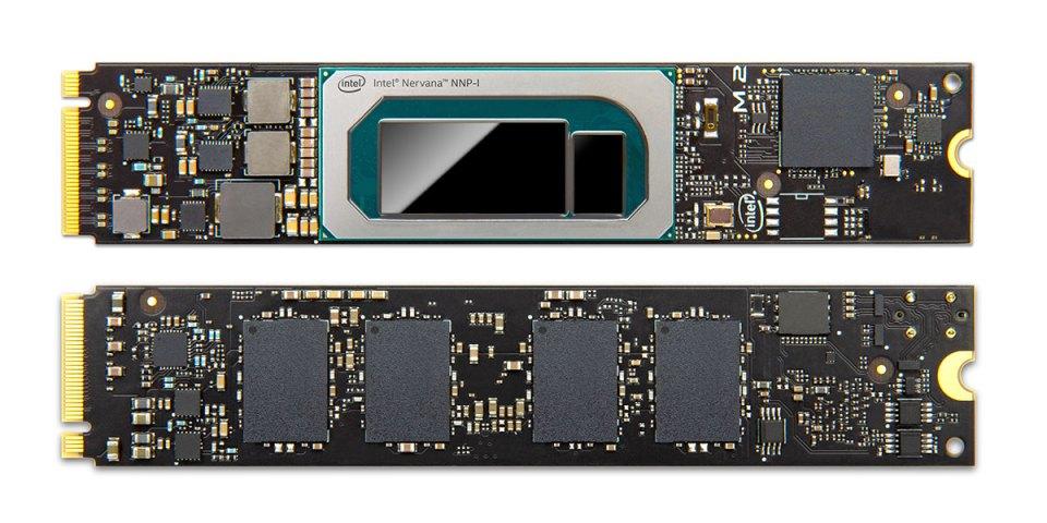 Intel Nervana NNP-I-1100 M.2 card