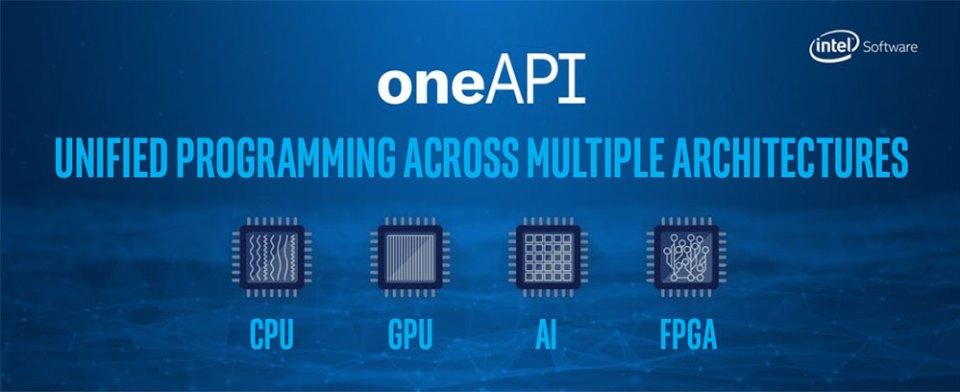 Intel oneAPI slide 01