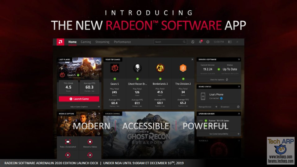 AMD Radeon Software Adrenalin 2020 Edition slide 11