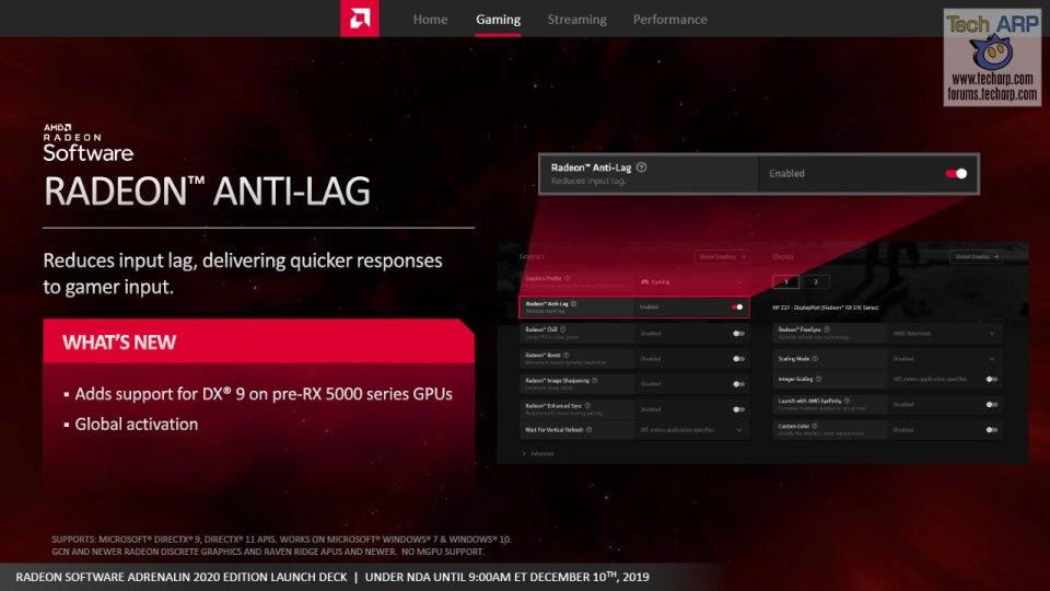 AMD Radeon Software Adrenalin 2020 Edition slide 20