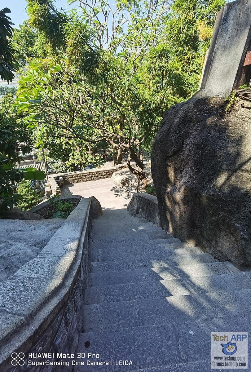 HUAWEI Mate 30 Pro - inside A-Ma Temple, Macau