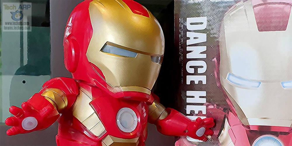 Iron Man Dance Hero Review : Cute + Loud!