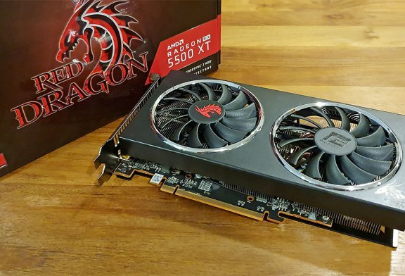 PowerColor Red Dragon Radeon RX 5500 XT Review!