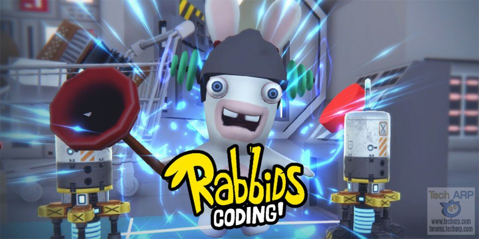Rabbids Coding! A FREE Coding Game For Children!