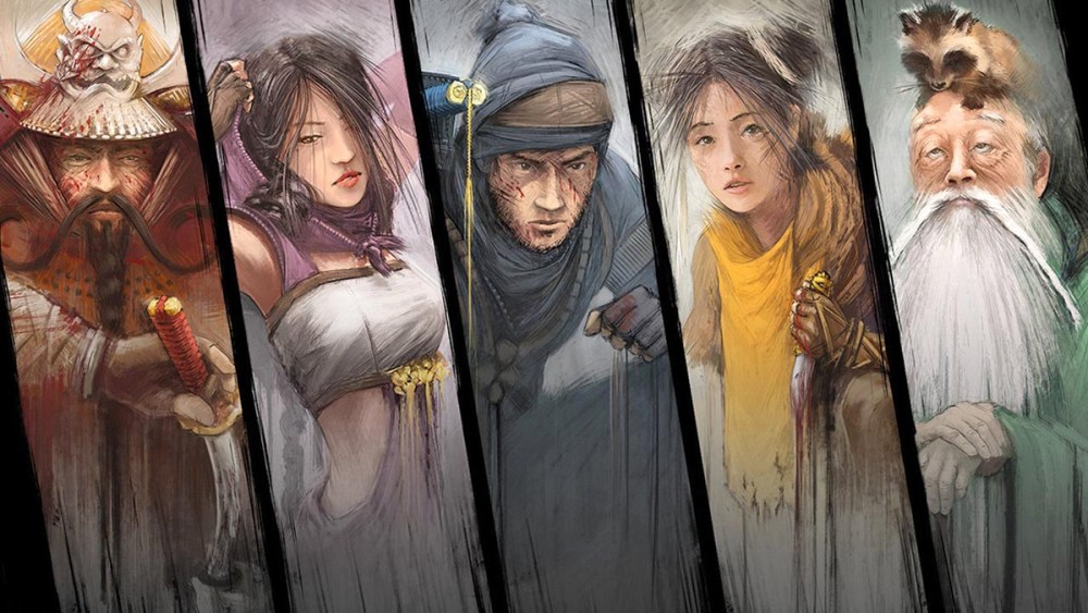 Shadow Tactics characters