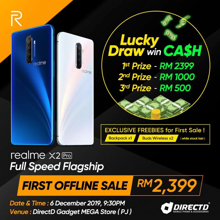 realme X2 Pro DirectD sale