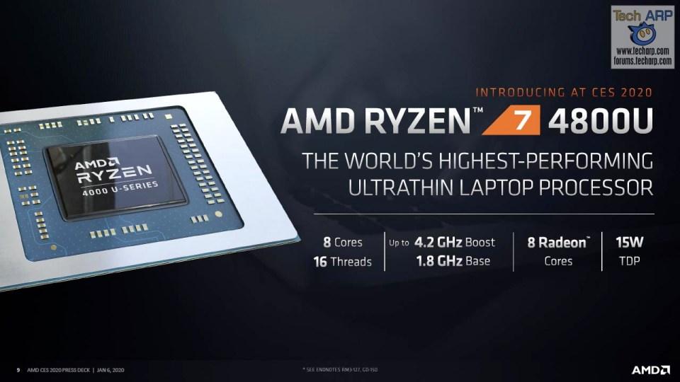 AMD Ryzen 7 4800U slide 01