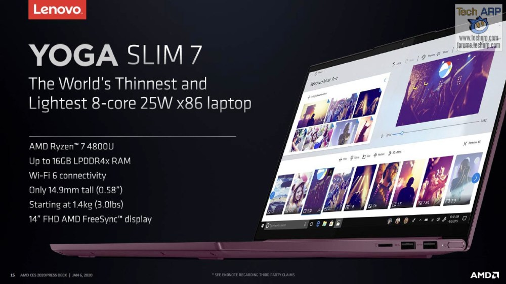 AMD Ryzen 7 4800U slide 07