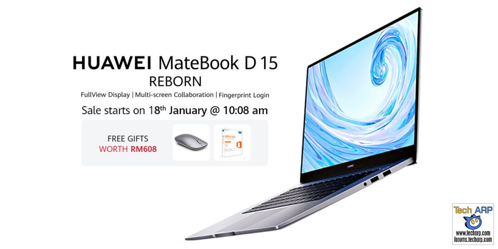 HUAWEI MateBook D 15 online deal