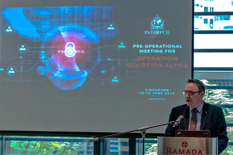 Operation Goldfish Alpha : INTERPOL Tackles Cryptojacking!