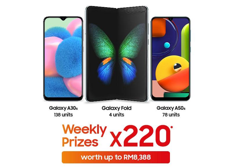 Samsung CNY 2020 prizes