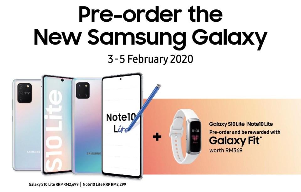Samsung Galaxy Note10 S10 Lite Pre-Order Details