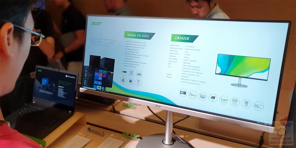 Acer CB342CK ProSumer Monitor : First Look!
