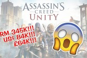 Assassin's Creed Unity : On Sale For RM345K, USD84K!