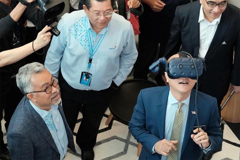 Celcom 5G Virtual Reality capability