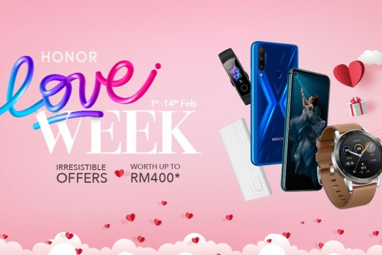 HONOR Love Week Deals 2020 : The Full List!
