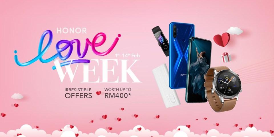 HONOR Love Week Deals 2020 : The Full List!