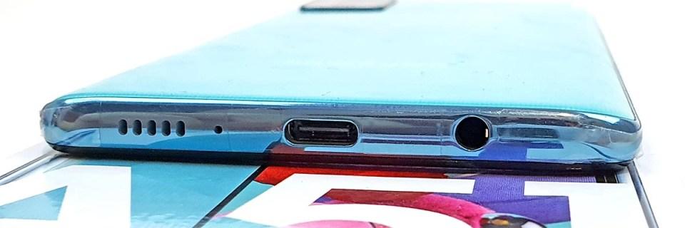Samsung Galaxy A51 bottom