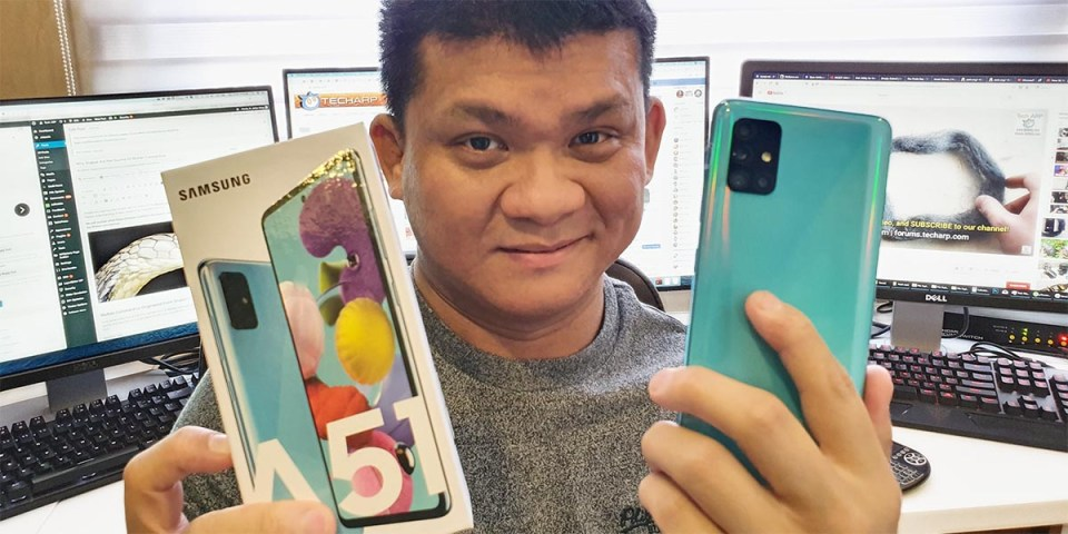 Samsung Galaxy A51 Hands-On Preview!