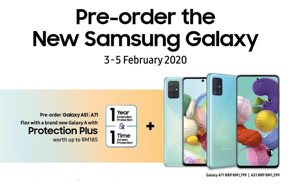 Samsung Galaxy A71 | A51 Price + Pre-Order Deal!